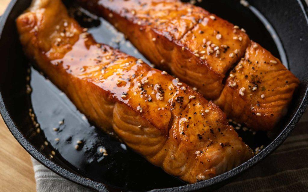Salmon Fish Teriyaki